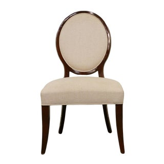 Late 20th Century Vintage Ralph Lauren Contemporary Style Dining Side Chair For Sale