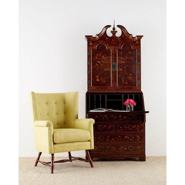 Fantastic wingback chair designed by Bunny Williams. The Westcott chair is a modern wing chair made in the U.S....