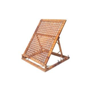 Vintage Wicker Seatless Chair