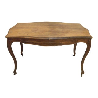 19th Century French Louis Philippe Cherry Wood Writing Desk For Sale