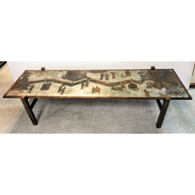 Stunning Tao Coffee Table by Philip and Kelvin LaVerne - Image 2 of 11