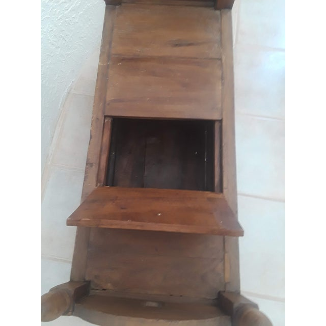 Indonesian Jodang Teak Wood Table For Sale In Santa Fe - Image 6 of 8