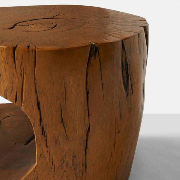 1990s Pair of Side Tables by Hugo Franca For Sale - Image 5 of 9