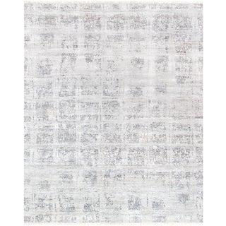 "Pasargad Modern Bamboo Silk Area Rug - 8' 0"" X 10' 1"" For Sale"