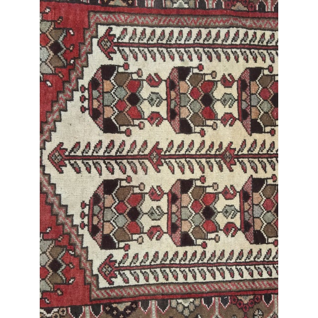 Vintage Hamadan Persian Rug - 3′6″ × 5′4″ - Image 5 of 9