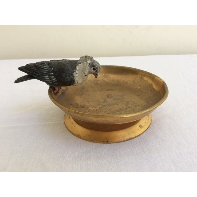 Vienna Bronze Pigeon For Sale - Image 5 of 5