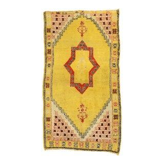 Vintage Berber Moroccan Rug, 04'11 X 08'09 For Sale