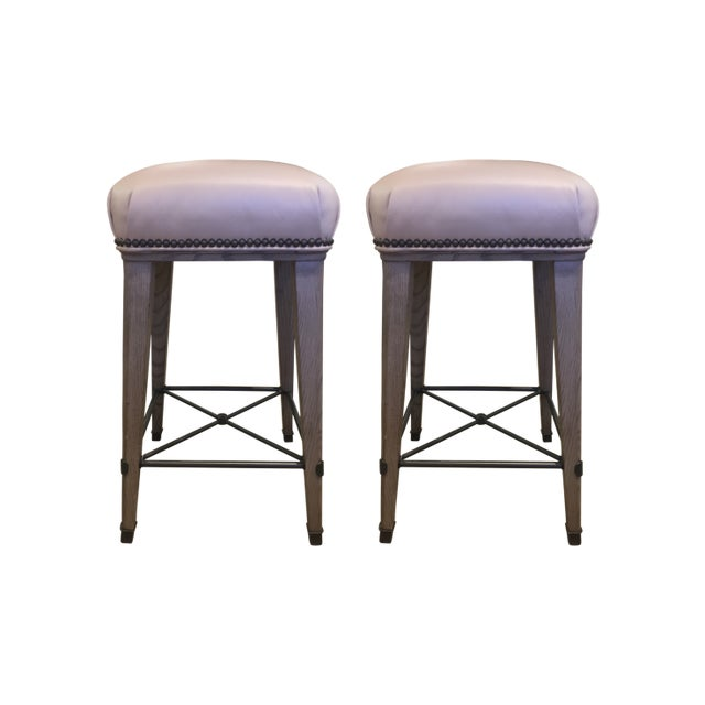 The Windsor Bar (shown below) and Counter Stools (shown) were inspired by a classic French Moderne design. They feature...