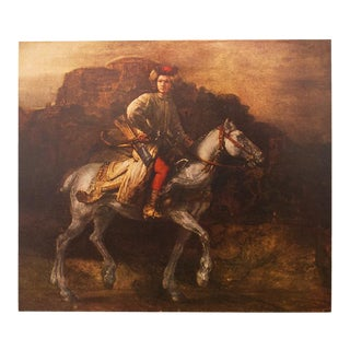 "1959 ""The Polish Rider"" by Rembrandt, Original First Edition Lithograph For Sale"