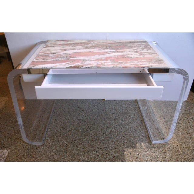 This stylish piece was recently acquired from a Palm Beach estate and will make the perfect working desk or perhaps...