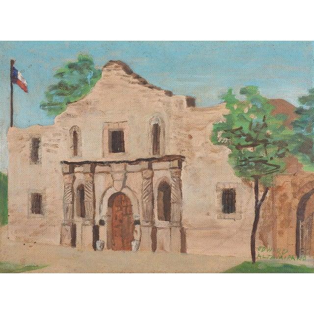 The Alamo, San Antonio, Texas Painting For Sale