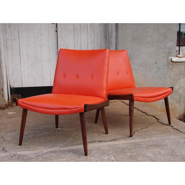 Favorite 1950s Vintage Kroehler Danish Mid Century Modern Lounge Slipper  ZC66