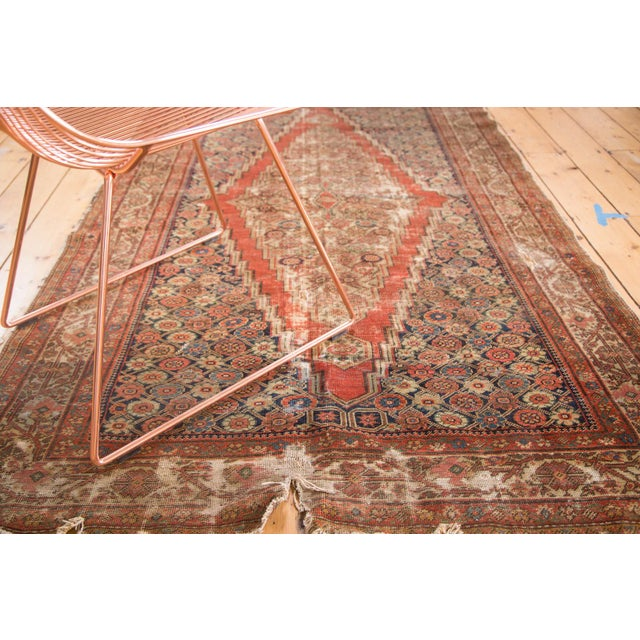 "Antique Fereghan Rug - 4'1"" x 6'3"" - Image 5 of 9"