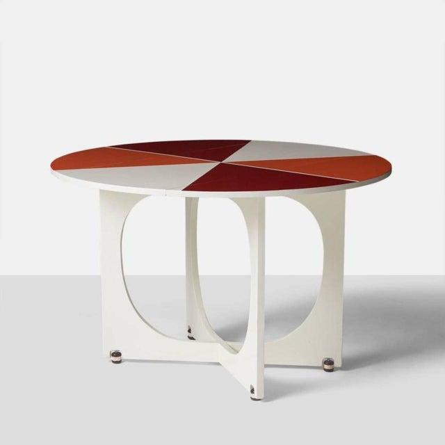 Mid-Century Modern Gio Ponti Drop Leaf Apta Table For Sale - Image 3 of 9