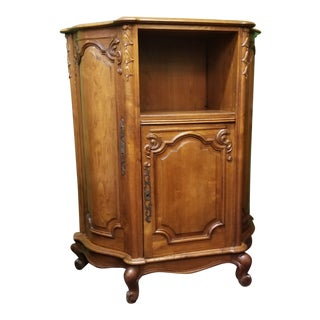 Antique French Music/Filing Cabinet For Sale