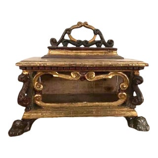 A Signed 18th Century Reliquary For Sale