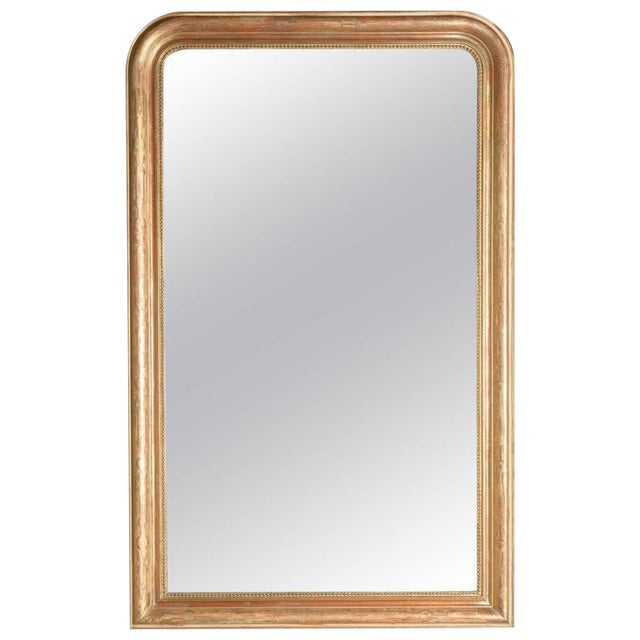 Grand Antique French Louis Philippe Period Mirror For Sale