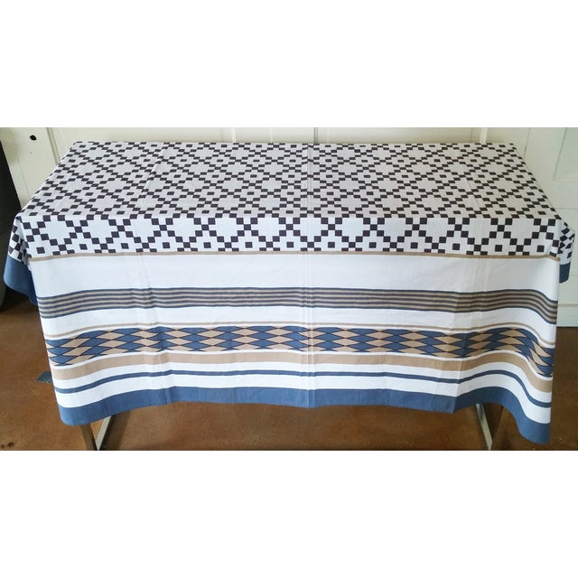 Patterned Neutrals Table Cover - Image 3 of 3