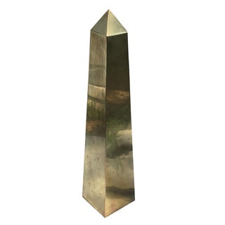 Vintage Brass Obelisk