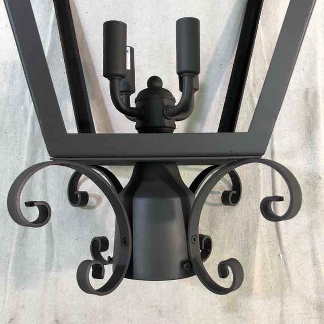 2010s Troy Lighting Mumford 4-Light Outdoor Post Lantern For Sale - Image 5 of 12