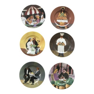 Williams-Sonoma Guy Buffet Collection Plates - Set of 6