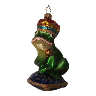 Christopher Radko Just One Kiss Toad Tree Ornament