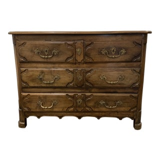 18th Century Antique Walnut Chest of Drawers For Sale