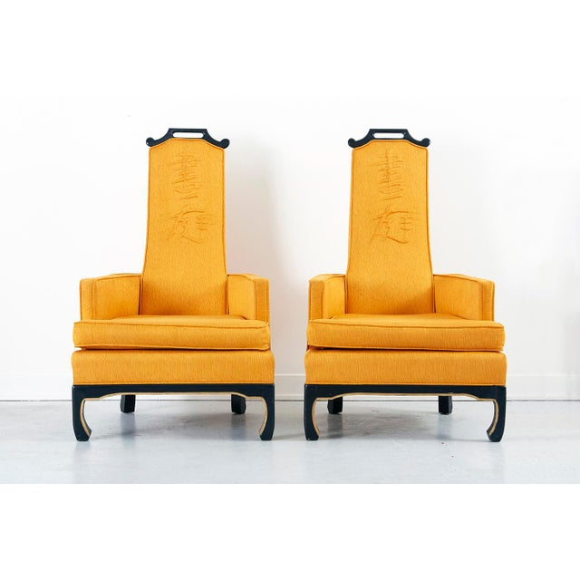 Pair of Chinoiserie Occasional Chairs in the Style of William 'Billy' Haines - Image 2 of 10