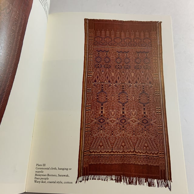 1980s Threads of Life Textiles Indonesia Sarawak Book For Sale - Image 5 of 8