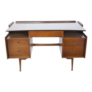 Mid-Century Wooden Desk