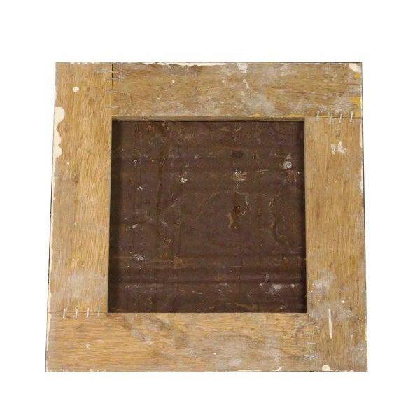 White Antique Tin Panels - Set of 4 - Image 4 of 4