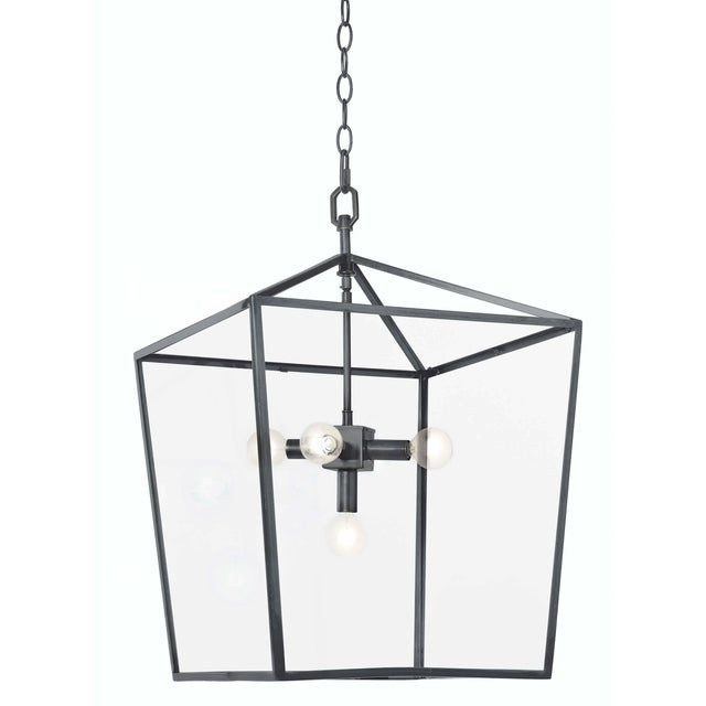 Camden Lantern in Oil Rubbed Bronze For Sale In Detroit - Image 6 of 6