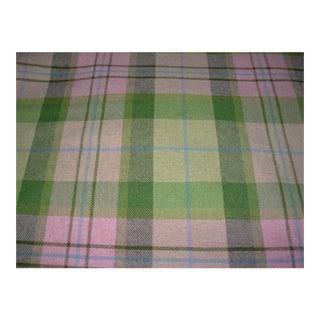 Designer Wool Tartan Multi-Purpose Fabric- 20 Yards For Sale