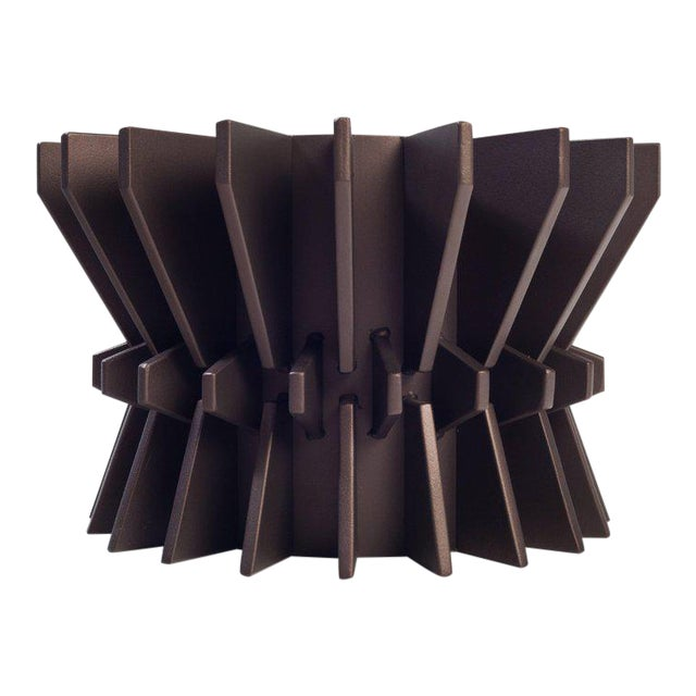 Cosmos Steel Planter by Harry Clark For Sale