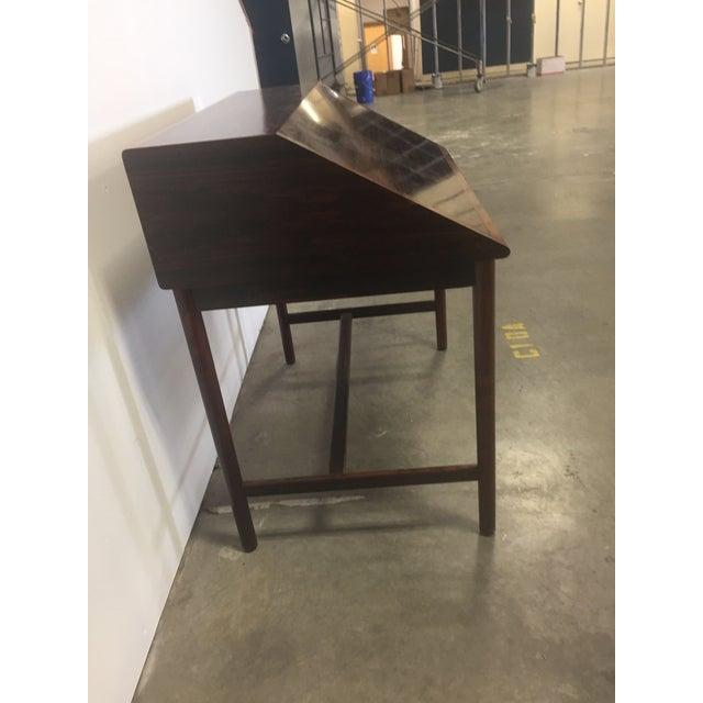Mid-Century Modern Midcentury Torbjørn Afdal Rosewood Desk For Sale - Image 3 of 9