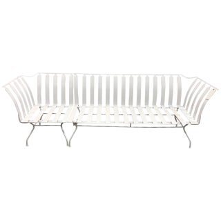 Mid-Century Garden Sofa and Chair Set - 2 Pc. Set For Sale