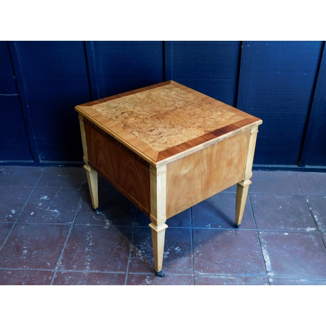 1960s Classic Wooden End Table For Sale - Image 4 of 11