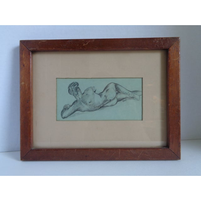 1940s Male Nude Study - Image 2 of 5