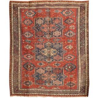 Antique 19th Century Caucasian Soumak Rug