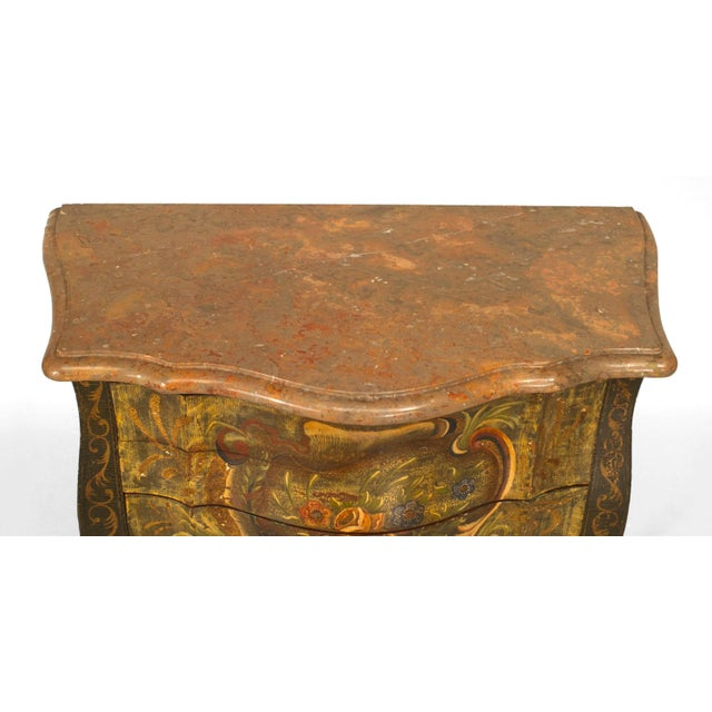Italian Italian Venetian '19th-20th Century' Commodes - a Pair For Sale - Image 3 of 6