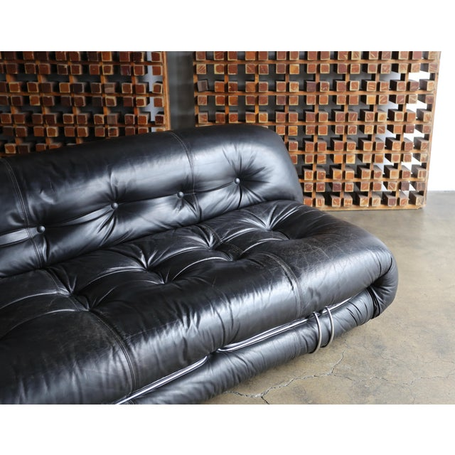 Soriana Settee by Afra & Tobia Scarpa for Cassina For Sale - Image 10 of 13
