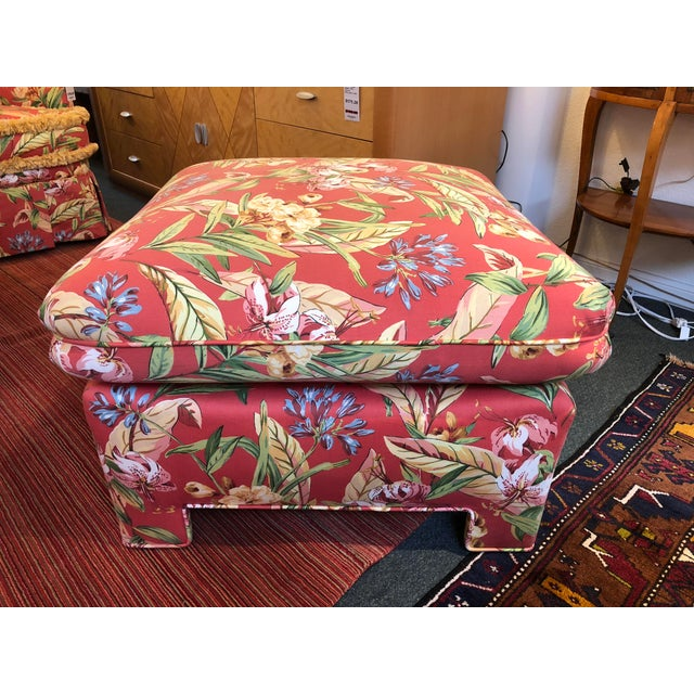 Marge Carson Ottomans - A Pair - Image 7 of 12