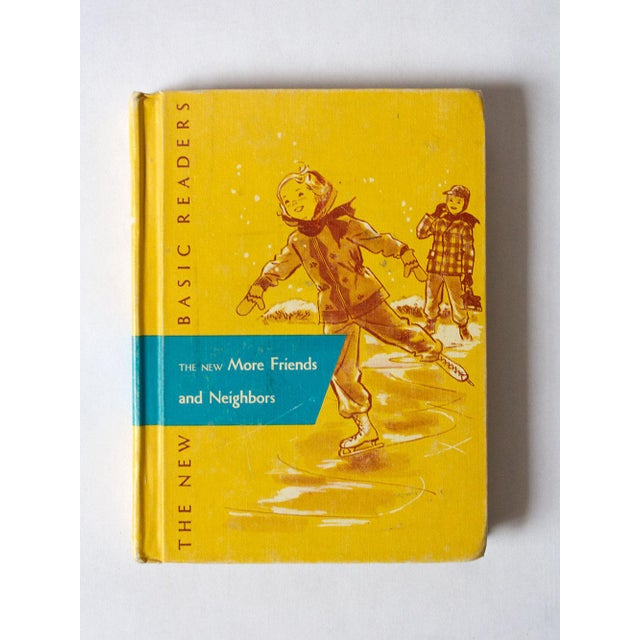 Yellow 1950s Vintage Children's School Book For Sale - Image 8 of 8