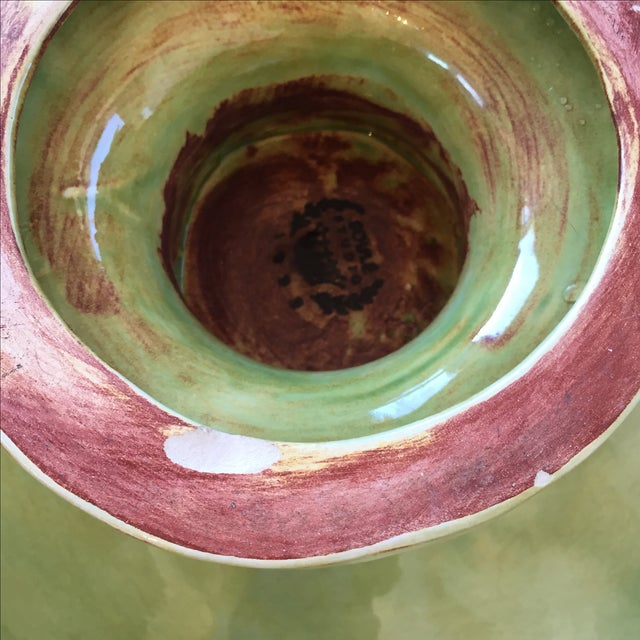Soule Studio Melange Footed Bowl in Kiwi - Image 7 of 7