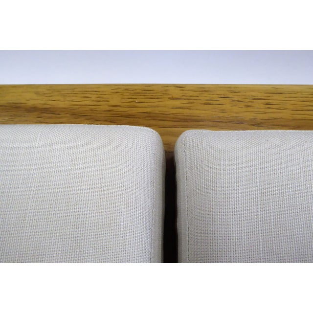 1950s Tomlinson's Sophisticates Line Mid-Century Modern Walnut Bench For Sale - Image 12 of 13