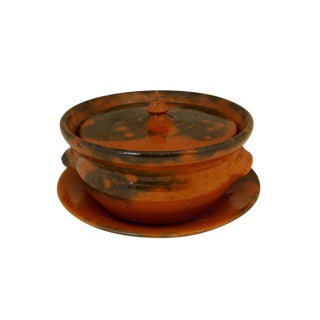 Ben Owen Jugtown Vegetable Dish & Tray For Sale