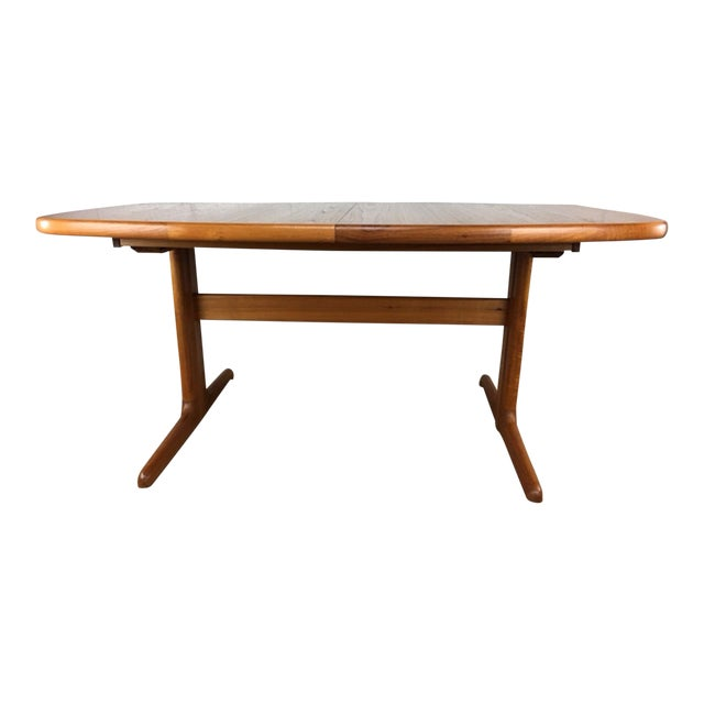 Dyrlund Danish Teak Dining Table - Image 1 of 7