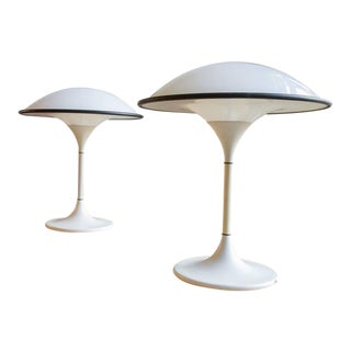 Fog & Mørup Space Age Table Lamps - a Pair For Sale