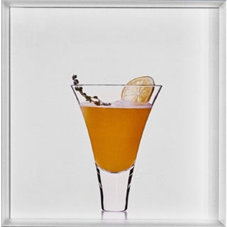"""Summer Thyme Shandy"" Limited-Edition Cocktail Portrait Photograph For Sale"