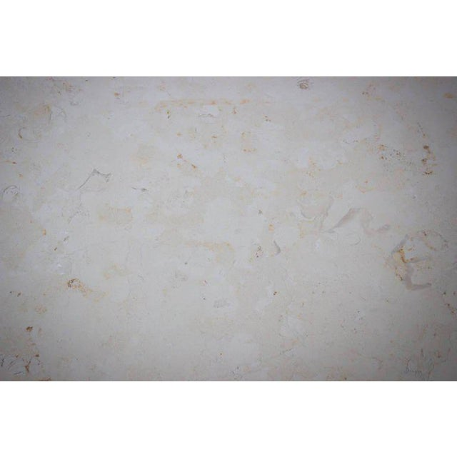 White Marcelo Dining Table For Sale - Image 8 of 10